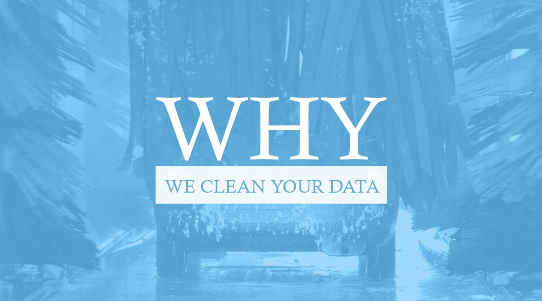 Why We Clean Your Data at DE Mailing Service